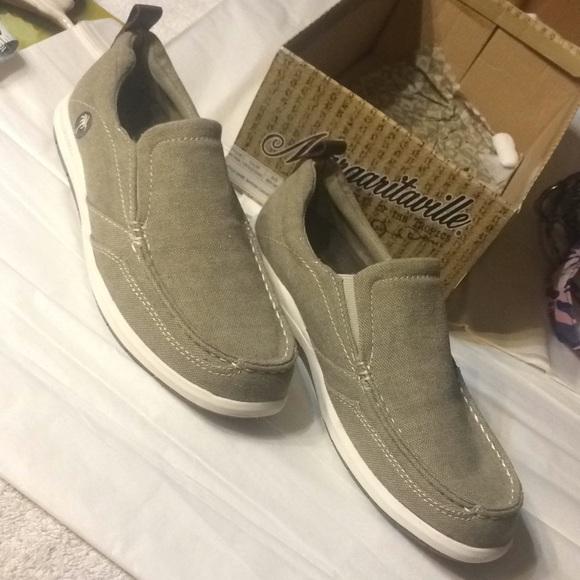 9afefd744759e Margaritaville Shoes   Mens Dock Canvas Khaki Color Sz 8 M   Poshmark